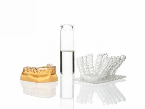 NextDent Оrthо Clear, Эстетичный 3D-материал для печати