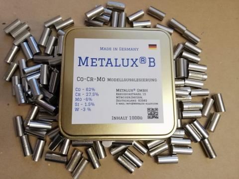 METALUX B Кобальт-Хром сплав для модельного литья зуботехнический сплав